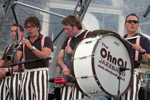 OhnO! Jazzband (Jazztime at the Keppel Castle 2011)