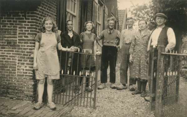 Familie Vrieze vd Spalle (Foto: collectie Fam. Levers)